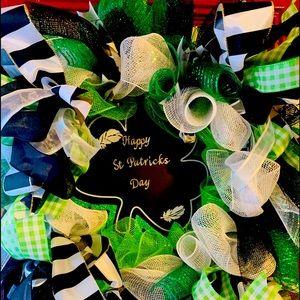 Happy St Patrick's Day Wreath